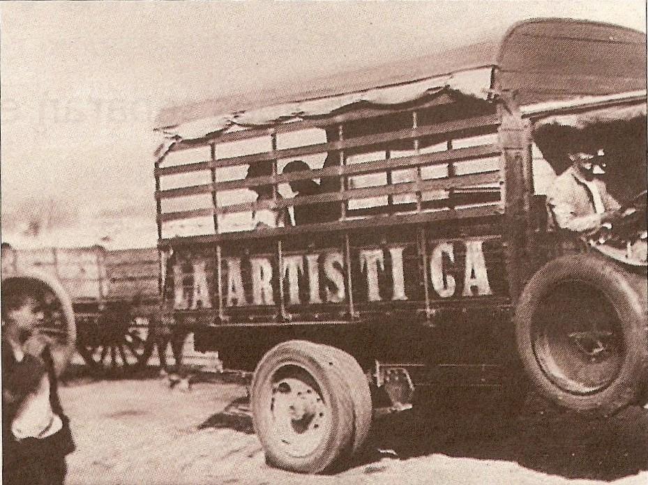 Camión de la empresa