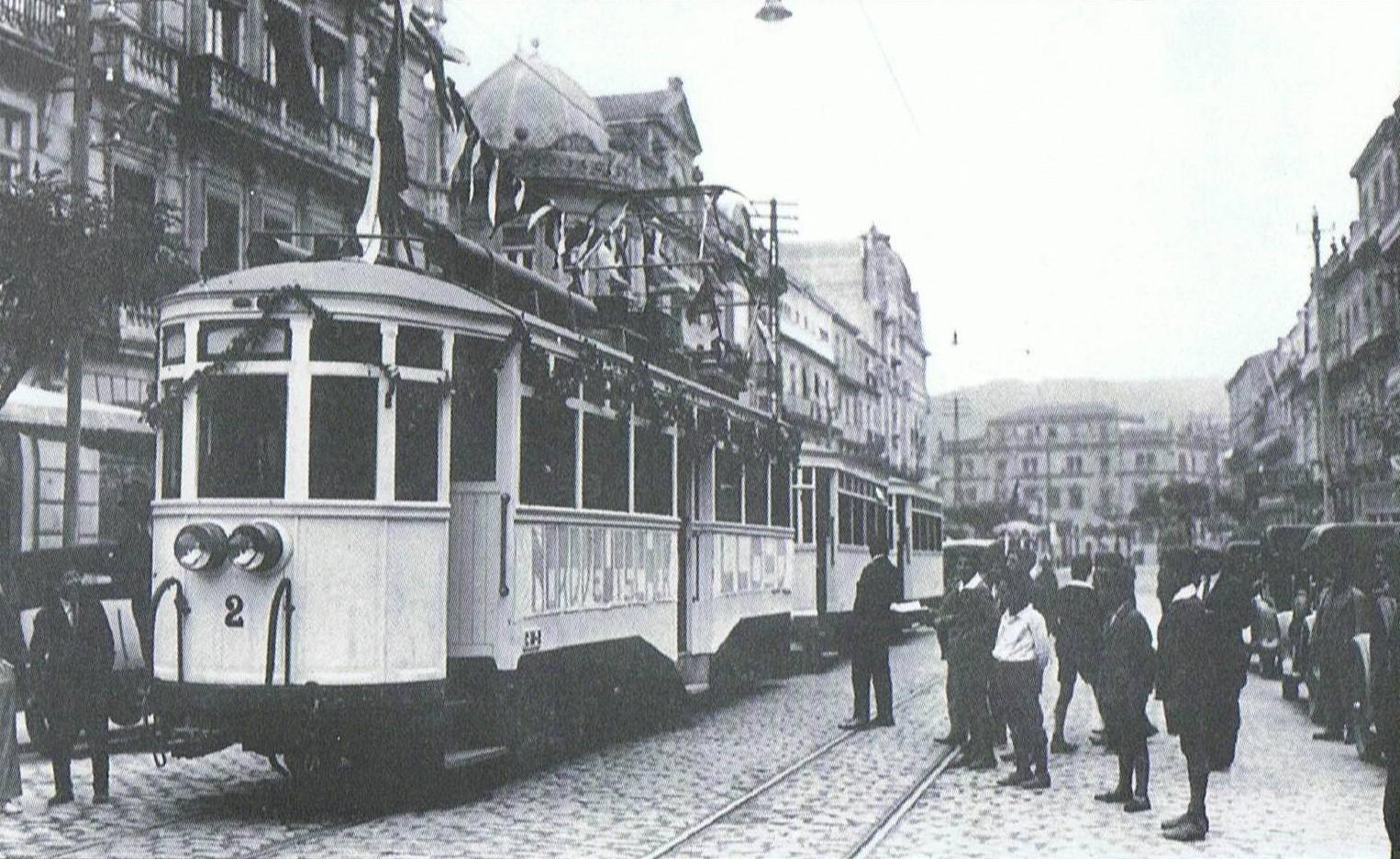 Inauguración de la línea