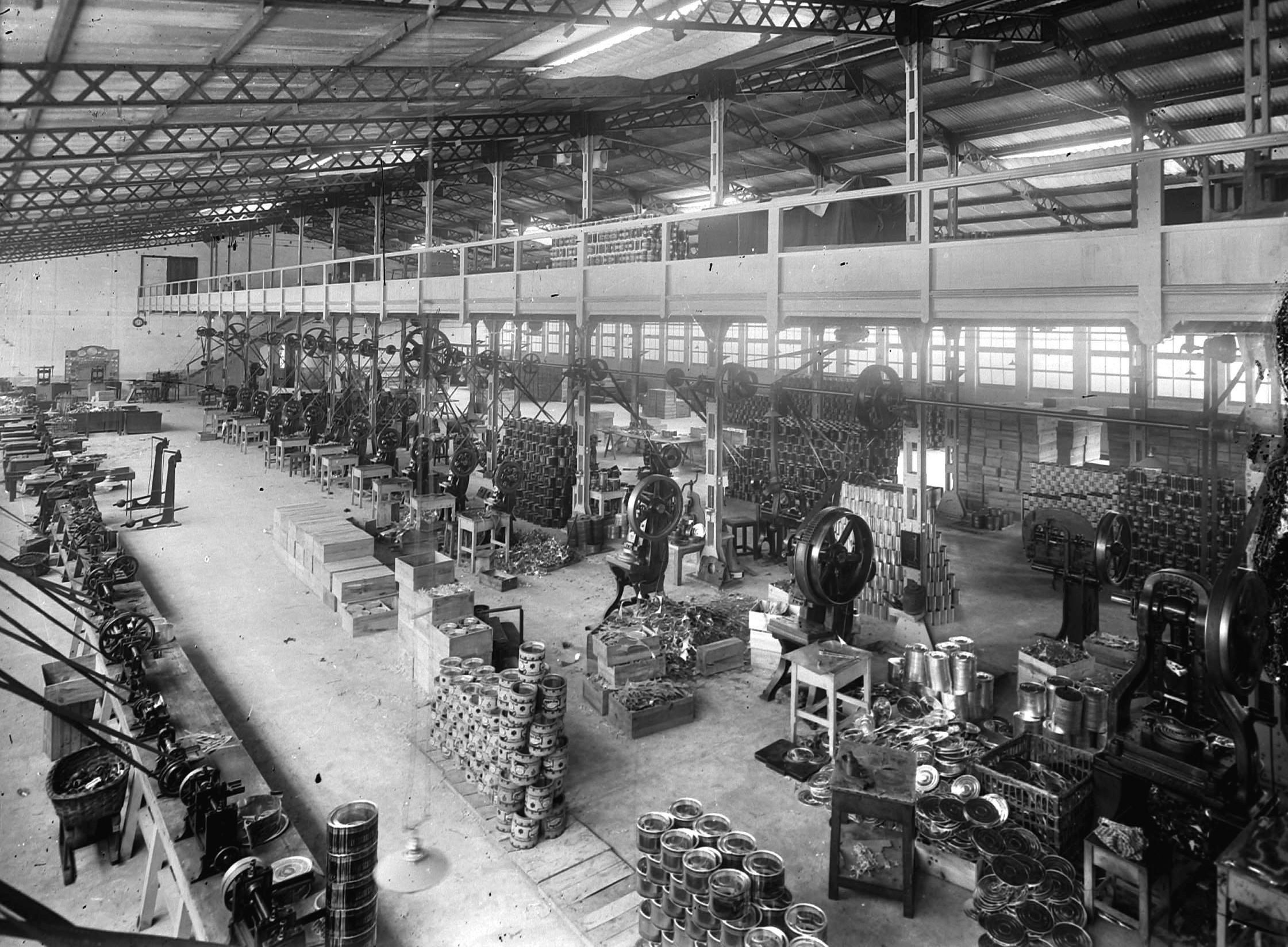 Interior de la fábrica
