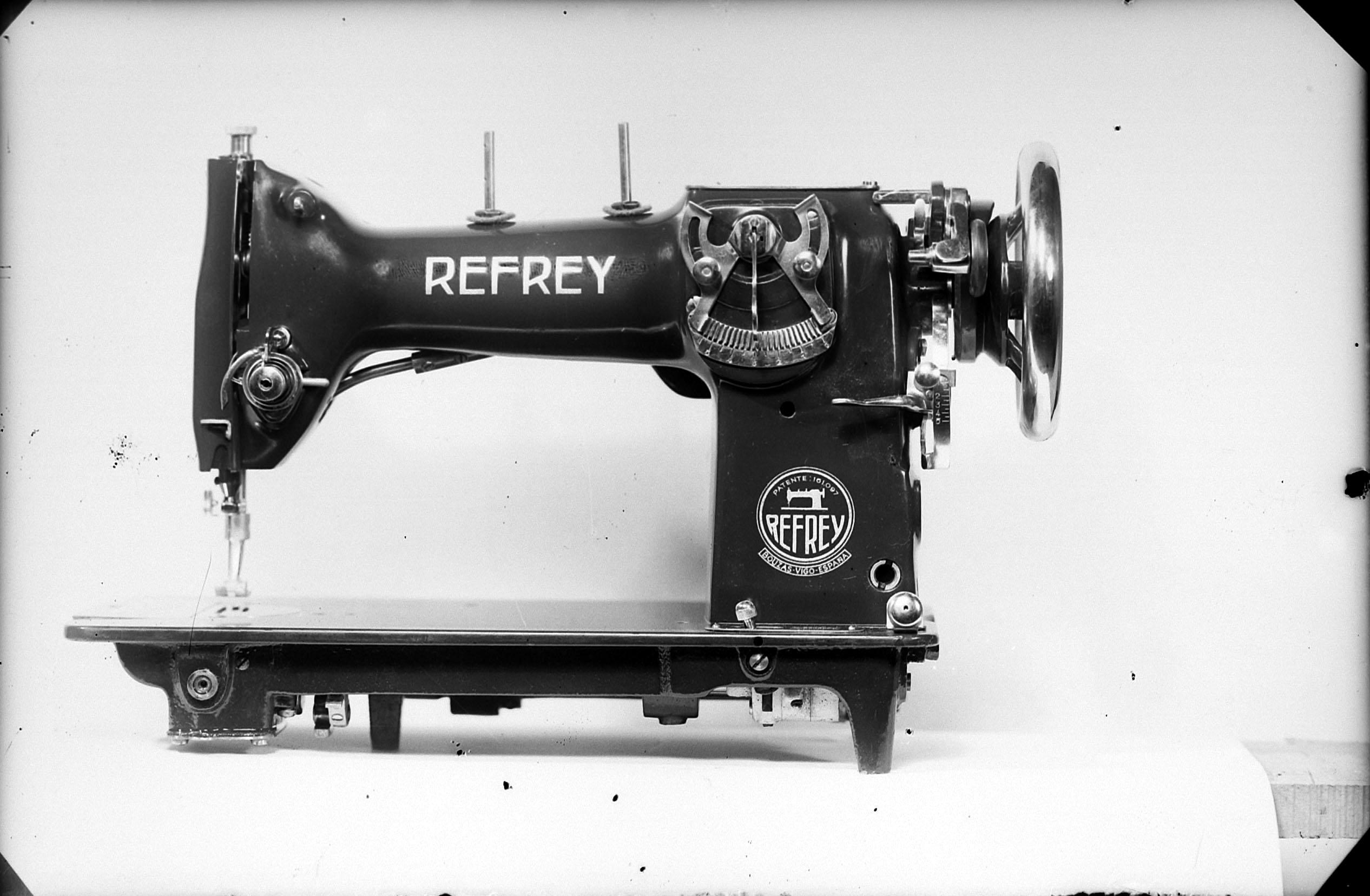 Regojo utilizaba máquinas Refrey
