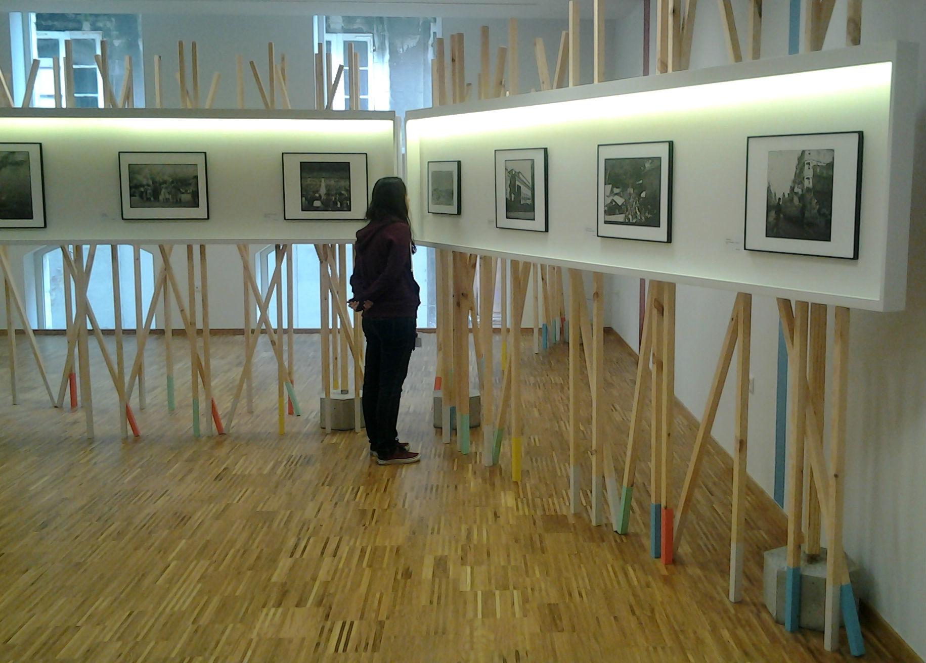 Exposición del Arquivo Pacheco en el Casco Vello