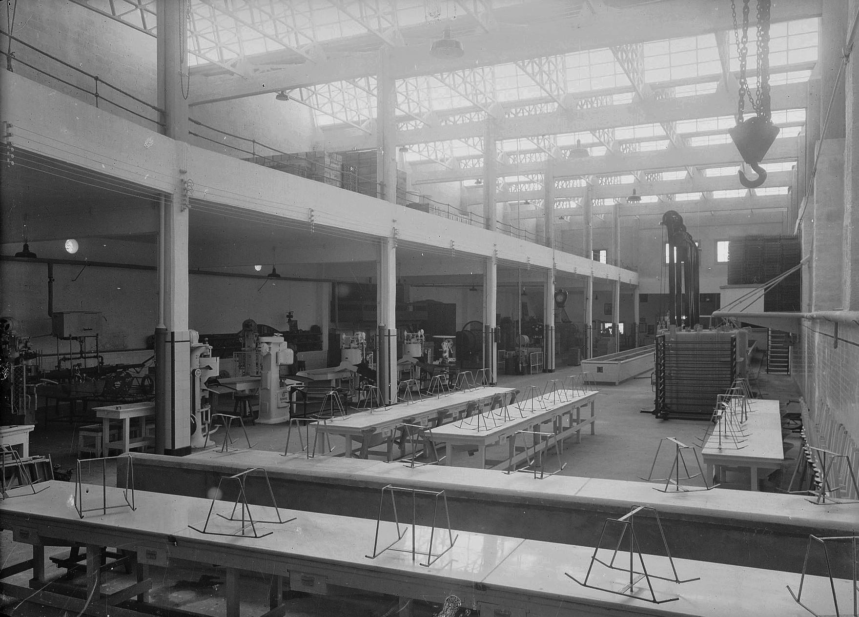 Panificadora.Interior de la fábrica de pan