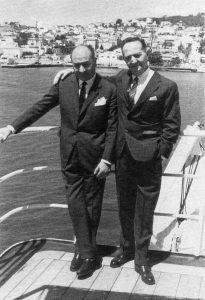 pescanova. José Fernández junto a Valentin Paz Andrade