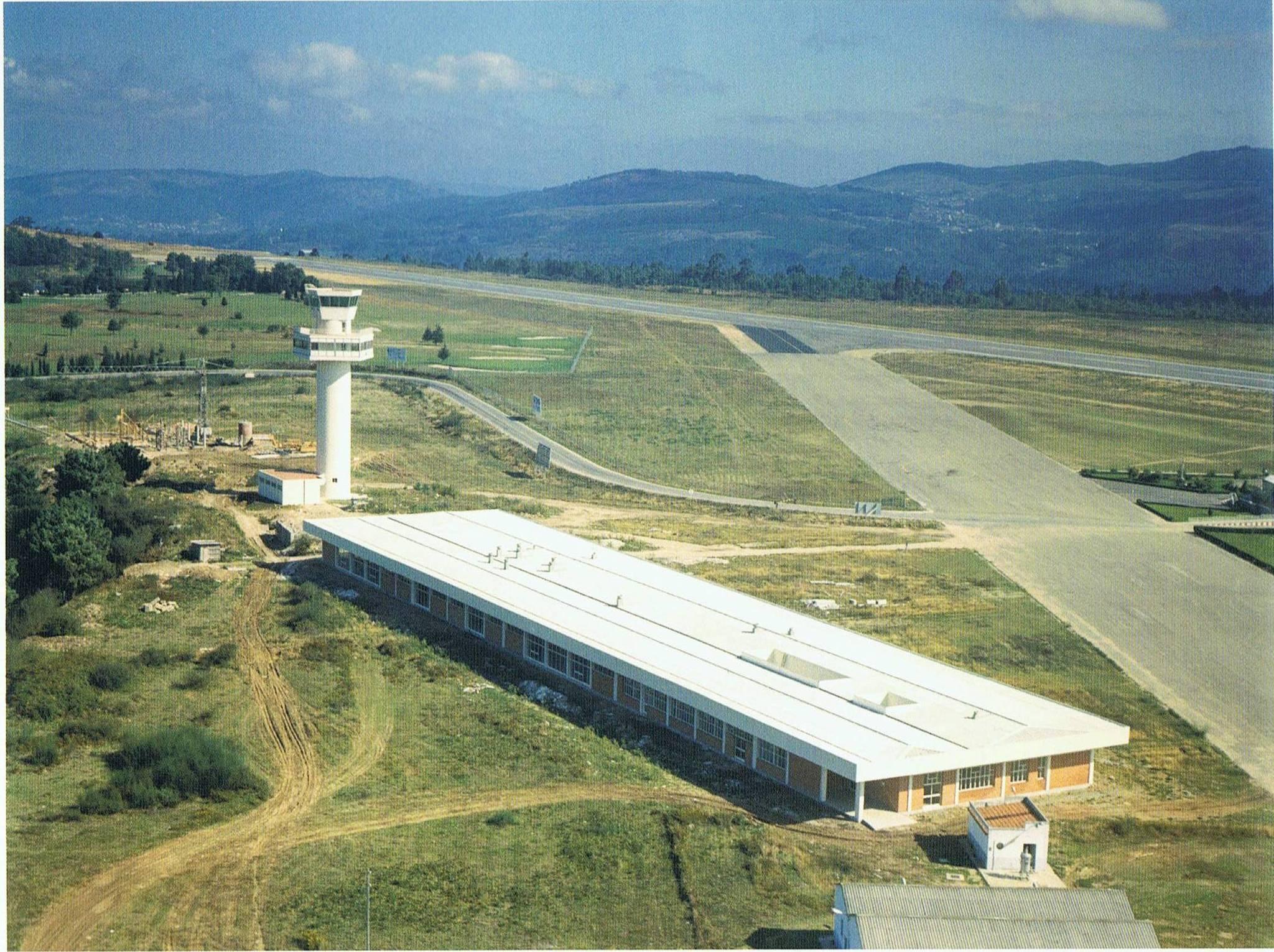 aerop. Construcción de la nueva terminal en los años 70