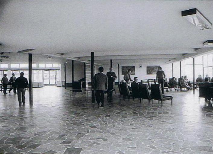 aerop. Terminal viguesa. Años 60
