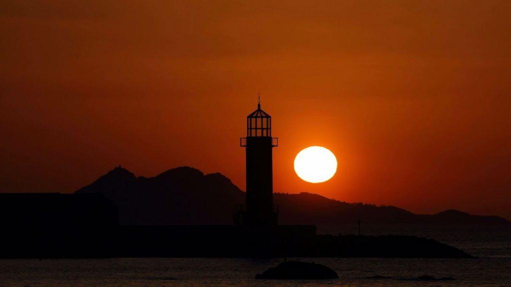 Puesta de Sol Museo Mar Cíes 2